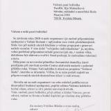Senioři ČR FM - Poděkování